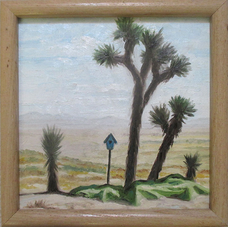 Oil painting Desert Decor