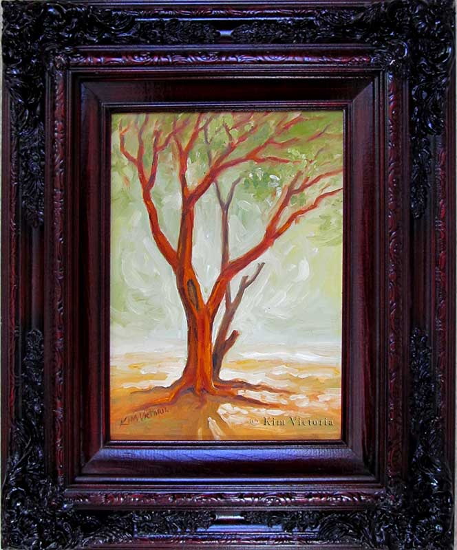 Oil painting Spirit Manzanita