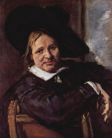 Isaac Massa painting by Frans Hals