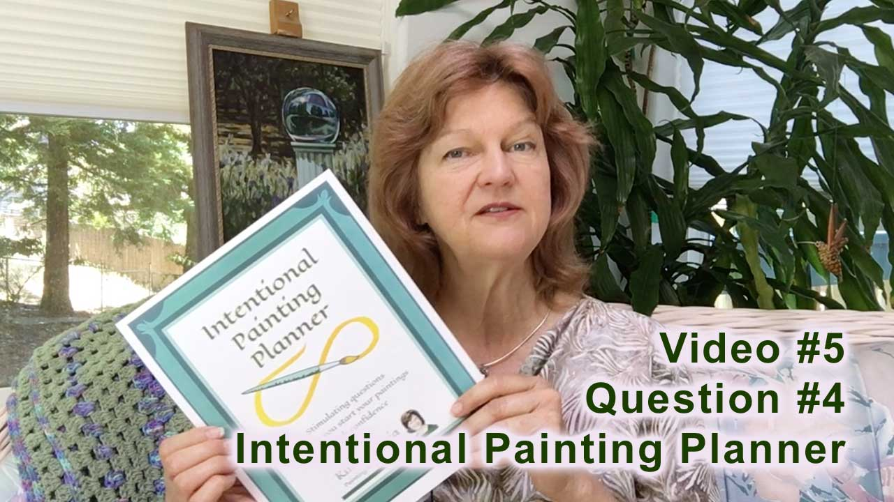 Video link Kim Victoria - Intentional Painting Planner #4